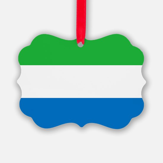 Flag of Sierre Leone Ornament