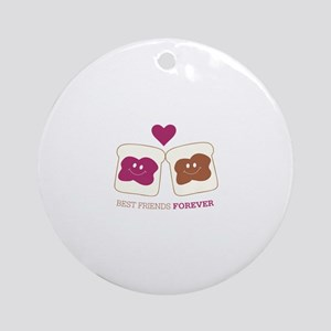 Best Friends forever Ornament (Round)