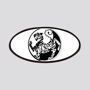 Yin Yang Shotokan Tiger Patches