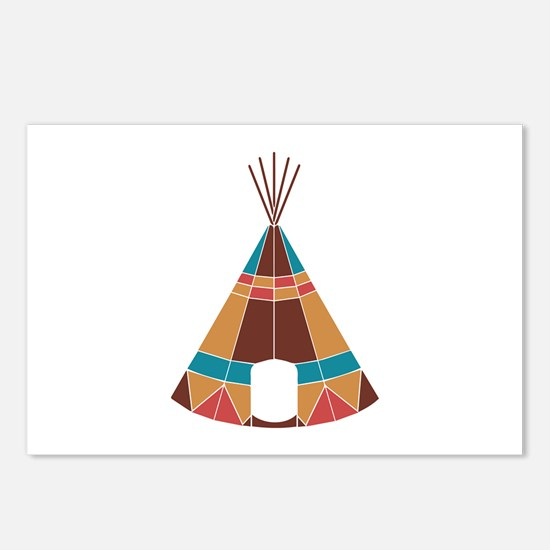 Indian Teepee Postcards (Package of 8)