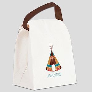 Adventure Teepee Canvas Lunch Bag