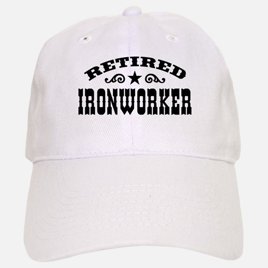 Retired Ironworker Baseball Baseball Cap
