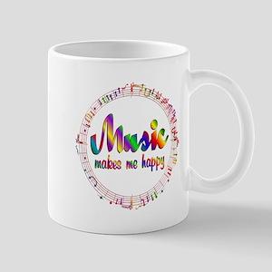 Music Makes Me Happy Mugs