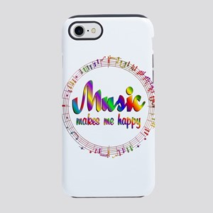 Music Makes Me Happy iPhone 7 Tough Case
