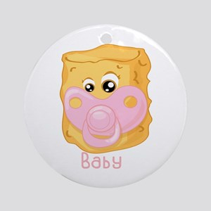 Tater Tot Baby Ornament (Round)
