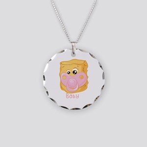 Tater Tot Baby Necklace
