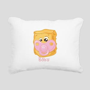 Tater Tot Baby Rectangular Canvas Pillow