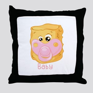 Tater Tot Baby Throw Pillow