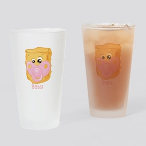 Tater Tot Baby Drinking Glass