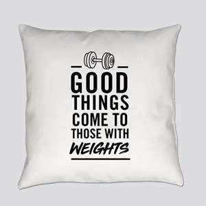 Good Things Come To Those With Weights Everyday Pi