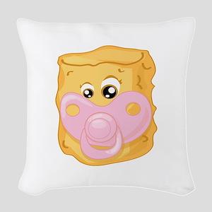 Baby Tater Tot Woven Throw Pillow