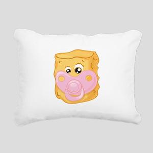 Baby Tater Tot Rectangular Canvas Pillow