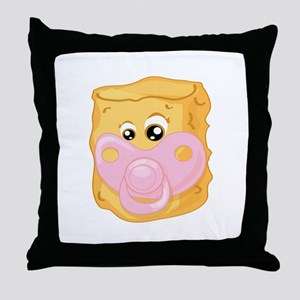 Baby Tater Tot Throw Pillow