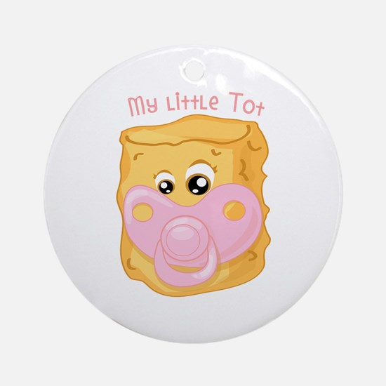 My Little Tot Ornament (Round)