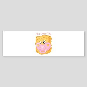 My Little Tot Bumper Sticker
