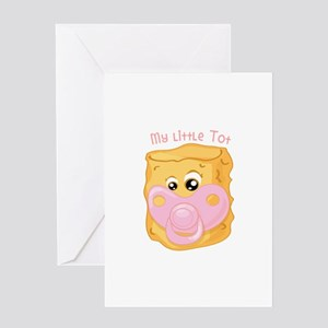 My Little Tot Greeting Cards