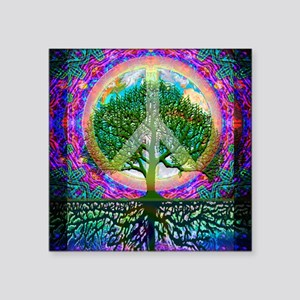 Tree of Life World Peace Sticker