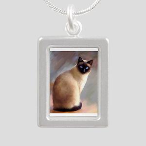 Cat 613 siamese Necklaces