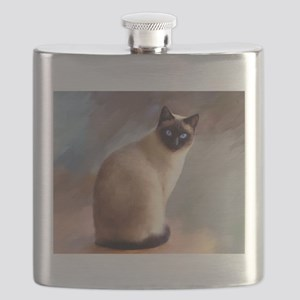 Cat 613 siamese Flask