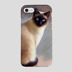 Cat 613 siamese iPhone 7 Tough Case