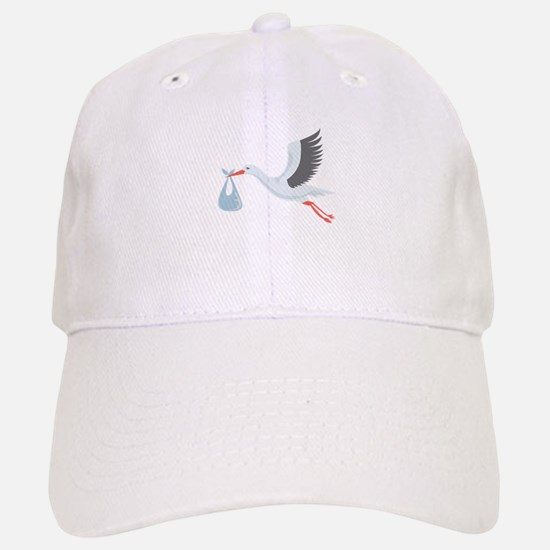 Stork The Delivery Baseball Baseball Baseball Cap