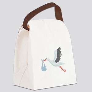 Stork The Delivery Canvas Lunch Bag