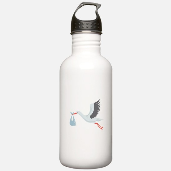Stork The Delivery Water Bottle