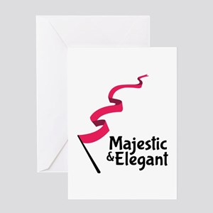 Cheer up greeting cards cafepress majestic elegant greeting cards m4hsunfo