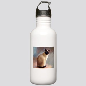 Cat 613 siamese Stainless Water Bottle 1.0L