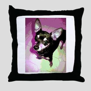 Disco Pepper ~ Chihuahua Throw Pillow