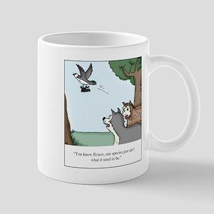 Big Dogs vs. Small Dogs 11 oz Ceramic Mug