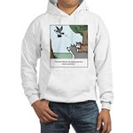 Big Dogs vs. Small Dogs Hooded Sweatshirt