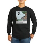Big Dogs vs. Small Dogs Long Sleeve Dark T-Shirt