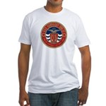 USS FARRAGUT Fitted T-Shirt