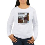 Lobster Hot Tub Women's Long Sleeve T-Shirt
