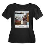 Lobster Women's Plus Size Scoop Neck Dark T-Shirt