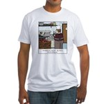 Lobster Hot Tub Fitted T-Shirt
