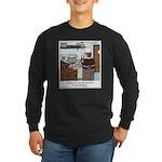 Lobster Hot Tub Long Sleeve Dark T-Shirt