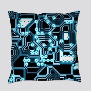 ElecTRON - Blue/Black Master Pillow