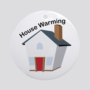 House Warming Ornament (Round)