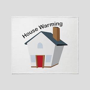 House Warming Throw Blanket
