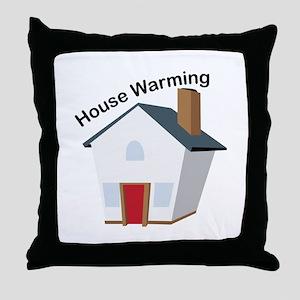 House Warming Throw Pillow
