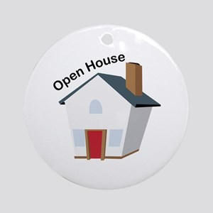 Open House Ornament (Round)