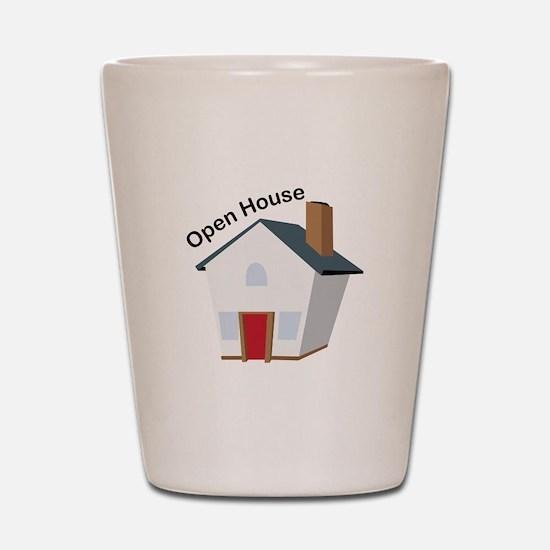 Open House Shot Glass