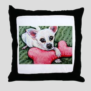 Bit & Bone ~ Chihuahua Throw Pillow