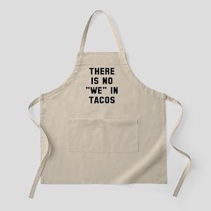 No we in tacos Apron