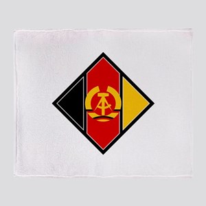 Emblem of aircraft of NVA Throw Blanket
