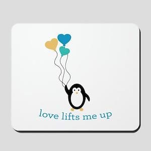 Love Lifts Me Mousepad