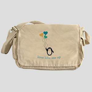 Love Lifts Me Messenger Bag