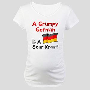 Grumpy German Maternity T-Shirt